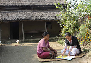 Interviewing for Chitwan Valley Family Study